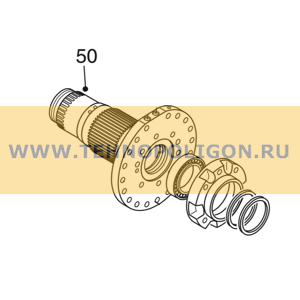 Ступица 15504504